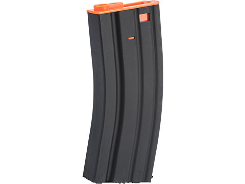 Matrix 300rd Metal Hi-Cap Magazine For M4 / M16 Series Airsoft AEG (Color: Orange)