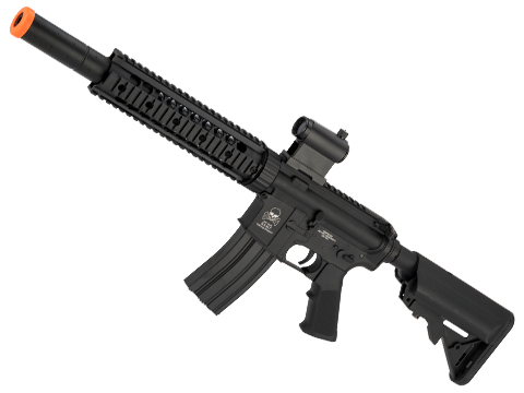 Avengers Full Metal M4 Carbine with 9 RIS Handguard with Mock Integrated Suppressor (Package: Gun Only)