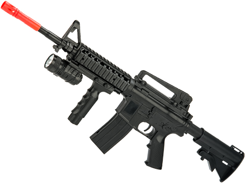 CYMA P.1158B+ 3/4 Scale Spring Powered Airsoft M4 Rifle