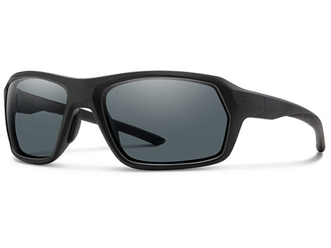 Smith Optics Elite Rebound Sunglasses (Color: Matte Black / Grey Lens)