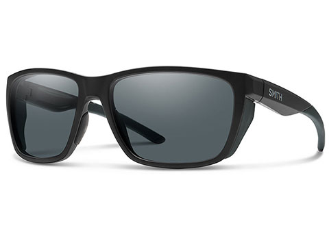 Smith Optics Elite Longfin Sunglasses (Color: Matte Black / Grey Lens)