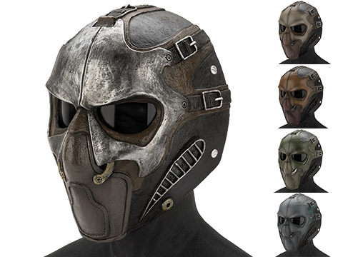 Evike.com R-Custom Fiberglass  Smoke Full Face Mask