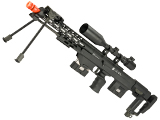 6mmProShop Gas Powered Full Metal DSR-1 Advanced Bullpup Sniper Rifle (Color: Black)