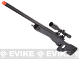 z G&G G960 Gas Powered Full Size Airsoft Sniper Rifle 500+ FPS (Color: Black)