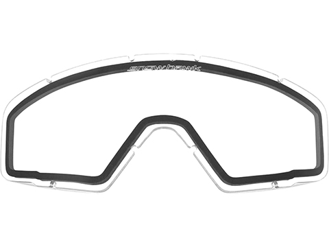 Revision Replacement Lens for SnowHawk Military Cold Weather Goggle System (Color: Clear)
