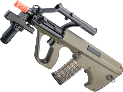 Snow Wolf AUG A1 Military Bullpup Airsoft AEG Rifle w/ Integrated Scope (Color: OD Green / CQB Tactical)