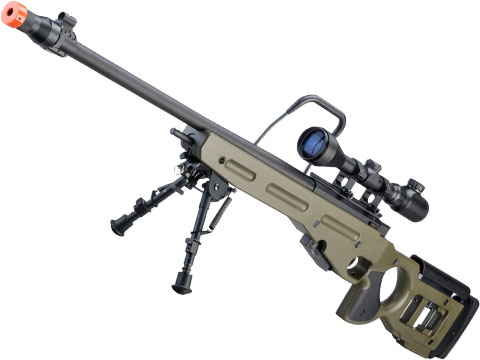 Snow Wolf SV-98 Bolt Action Airsoft Sniper Rifle (Color: Olive Drab)