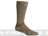 5.11 Tactical Level I 9 Socks - Coyote Brown