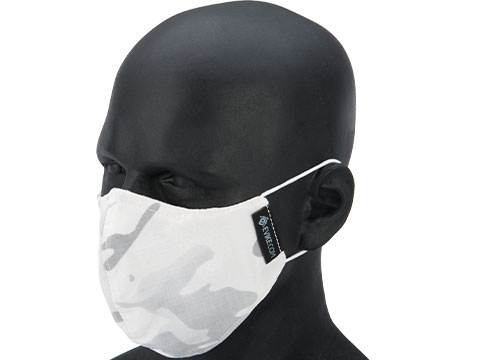 Evike.com NyCo Reusable Washable Face Mask (Color: Snow Camo)