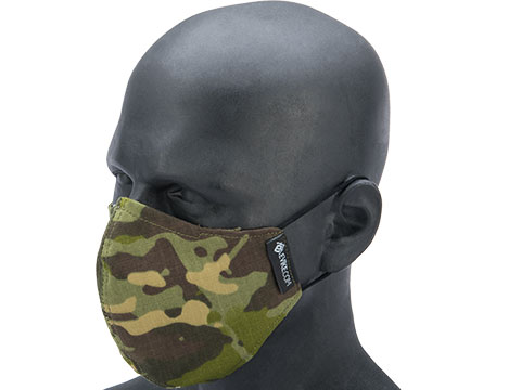 Evike.com NyCo Reusable Washable Face Mask (Color: Forest Camo)