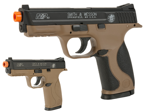 Smith and Wesson M&P40 CO2 Powered Non-Blowback Airsoft Pistol
