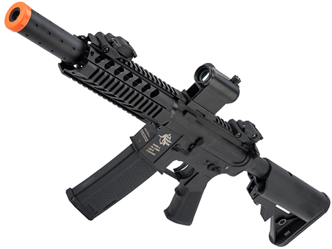 Specna Arms / Rock River Arms Licensed CORE Series M4 AEG (Model: M4 CQB Suppressed / Black SA-C011)
