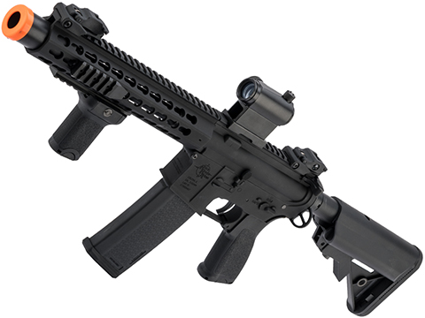 Specna Arms / Rock River Arms Licensed EDGE Series M4 AEG (Model: M4 SBR Keymod / Black SA-E07)