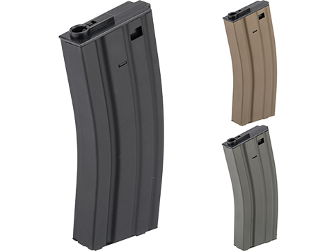 Specna Arms 120rd Mid-Cap Stamped Steel STANAG Style M4 / M16 AEG Magazine