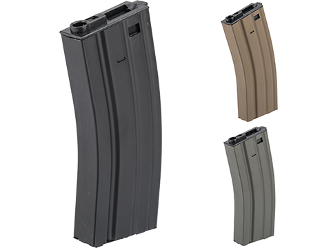 Specna Arms 300rd Hi-Cap Stamped Steel STANAG Style M4 / M16 AEG Magazine