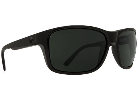 Spy Optic Arcylon Sunglasses (Color: Black Frame / HD Plus Gray Green Lens)