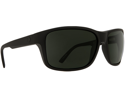 Spy Optic Arcylon Sunglasses (Color: Matte Black Frame / HD Plus Gray Green Lens)