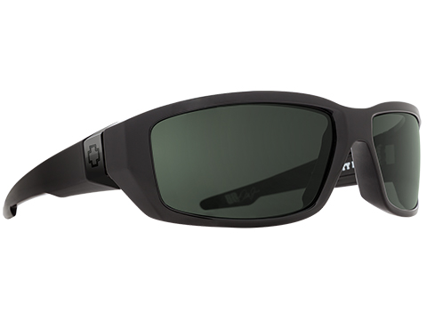 Spy Optic Dirty Mo Sunglasses (Color: Black Frame / HD Plus Gray Green Lens / Polarized)