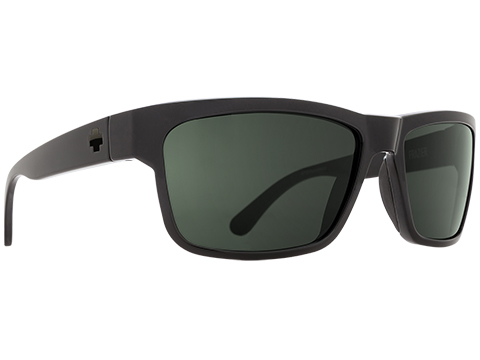 Spy Optic Frazier Sunglasses (Color: Black Frame / HD Plus Gray Green Lens / Polarized)