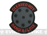 MoeGuns Danger Close 3D PVC Morale Patch