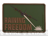 MoeGuns Raining Freedom 3D PVC Morale Patch - Multicam