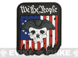 MoeGuns We The People  3D PVC Morale Patch - Large Logo
