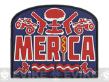 MoeGUns PVC 'Merica Patch - Color