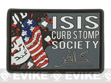 MoeGuns ISIS Curbstomp 3D PVC Morale Patch