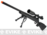 JG M700 Bolt Action Airsoft Sniper Rifle (Color: Black)