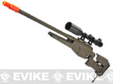 z King Arms Bolt Action Blaser R93 LRS1 Tactical Airsoft Sniper Rifle - Dark Earth