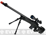 Matrix Marui Clone L96 AWS Bolt Action Airsoft Sniper Rifle w/ Scope & Bipod - Black