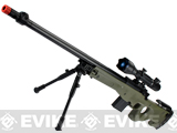 Matrix Marui Clone L96 AWS Bolt Action Airsoft Sniper Rifle w/ Scope & Bipod - OD Green