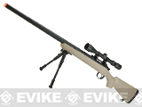 Matrix VSR-10 MB03 Bolt Action Airsoft Sniper Rifle by WELL - Desert (Package: Rifle)
