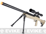 SR-2 MB06 Shadow Op Bolt Action Airsoft Sniper Rifle w/ LE Stock - Desert (2 Mags)