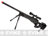 Matrix AW-338 MB08D Bolt Action Airsoft Sniper Rifle w/ Bi-Pod & Scope by WELL - Black