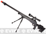 Matrix Custom VSR10 MB12 Airsoft Bolt Action Sniper Rifle w/ Scope & Bipod by WELL