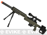 WELL MB4410D Bolt Action Airsoft Sniper Rifle (Color: OD Green)
