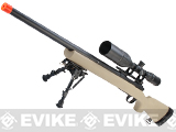 z Modify Pre-Upgraded M24 Airsoft Bolt Action Sniper Rifle (Color: Desert Tan)