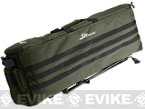 SRU Rapid Deployment Case (RDC) Self-Deploying Rifle Range Caddy Bag - Olive Drab