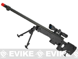 AW338 Airsoft Bolt Action Heavy Weight Sniper Rifle by UFC - Black