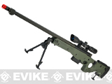 AW338 Airsoft Bolt Action Heavy Weight Sniper Rifle by UFC - OD Green (500 FPS)