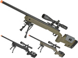 PDI Custom S&T USMC M40A3 Bolt Action Airsoft Sniper Rifle w/ PDI Internals (Model: OD Green)