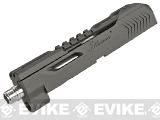 SR Union SR-X Apache Precision Slide & Barrel Set for WE DM40 Series Airsoft GBB Pistols - Gray