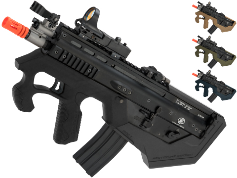 Evike.com Custom WE-Tech SCAR-L Gas Blowback Rifle w/ SRU SCAR-L Bullpup Conversion Kit