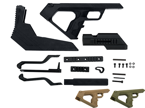 SRU 3D Printed Bullpup Conversion kit for WE-Tech MK17  Gas Blowback Rifle