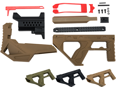 SRU 3D Printed Bullpup Conversion kit for GHK G5  Gas Blowback Rifle