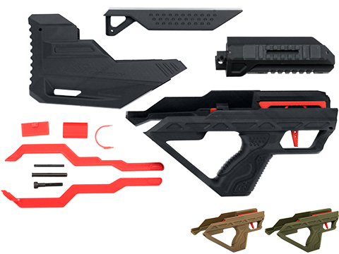 SRU 3D Printed Bullpup Conversion kit for WE-Tech PMC AK Gas Blowback Rifle