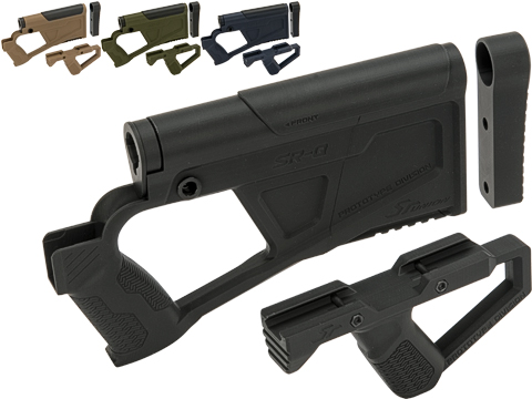 SRU SRQ AR Advanced Kit for TM Spec M4 Airsoft AEG Rifles (Color: Black)