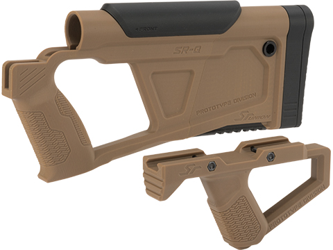 SRU Prototype Division Advanced Conversion Kit for KJW KC02 Series Airsoft GBB Rifles (Color: Tan)