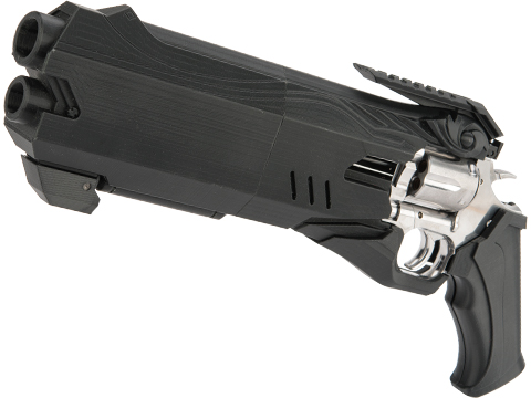 Evike Exclusive 3D Printed Hellfire Cosmetic Enhancement Kit w/ Dan Wesson 715 CO2 Powered Airsoft Revolver